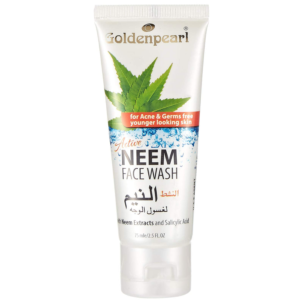 Golden Pearl Neem Face Wash 75ml