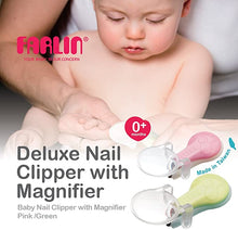 Load image into Gallery viewer, Farlin Deluxe Nail Clipper W/Magnifier