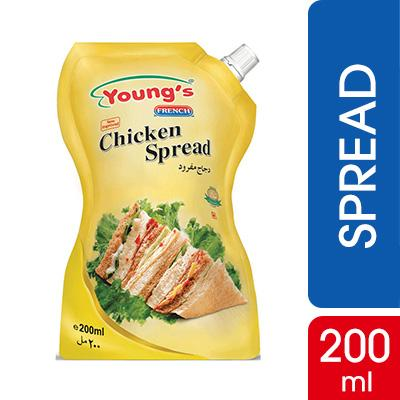 Young's Chicken Spread 200ml