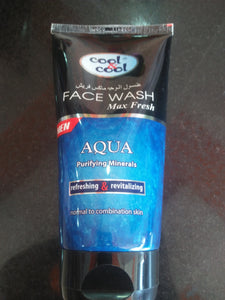 Cool & Cool Face Scrub Max Fresh Aqua 150ml