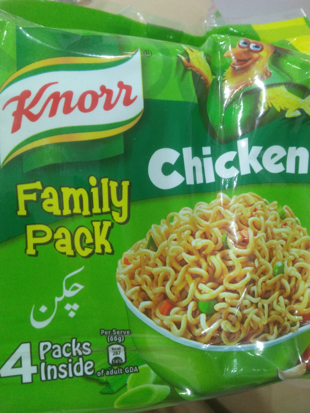Knorr Chicken family pack Noodles 4pcs