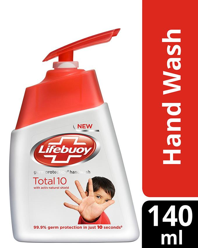Lifebouy Germ Protection Hand Wash Total 10 140ml