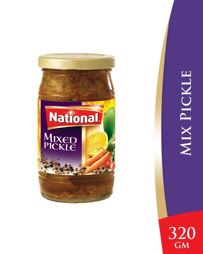 National Mixed Pickle - 320 gm