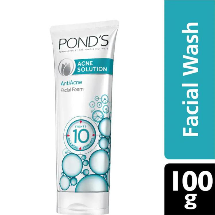 Pond's Acne Solution Face Wash 100g