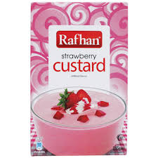 Rafhan Strawberry Custard 285g