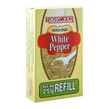 Rossmoor White Pepper 25g