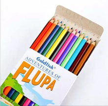 Load image into Gallery viewer, Goldfish Flupa Adventure 12 Colour Pencil