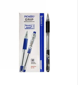 Picasso Grip Black Ball Pen - Pack of 10
