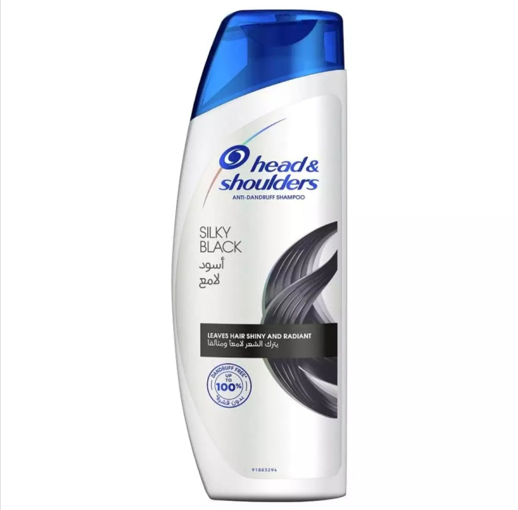 Head & Shoulders Silky Black Shampoo 650ml
