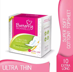 Butterfly Ultra Thin 10 extra long