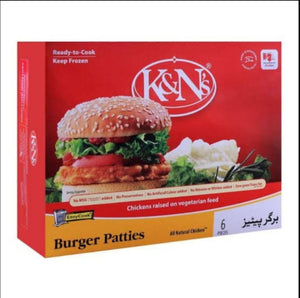 K&N's Burger Patties ( 6 pcs )