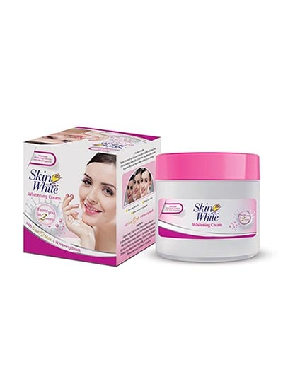 Skin White Whitening Cream Jar