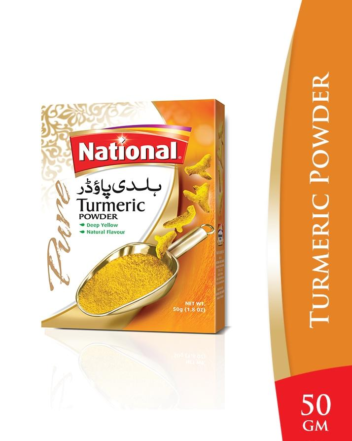 National Turmeric Powder - 50gm