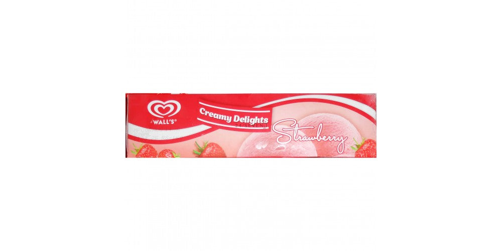 Walls creamy delight strawberry 800ml