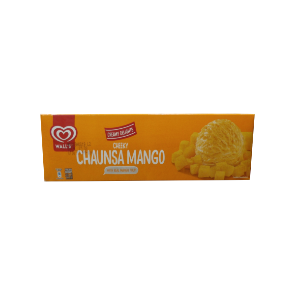 Walls creamy delight mango 800ml