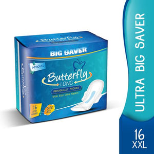 Butterfly extra long 18ultra napkins big saver
