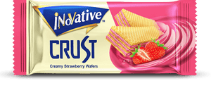 Inovative Crust Wafer Strawberry