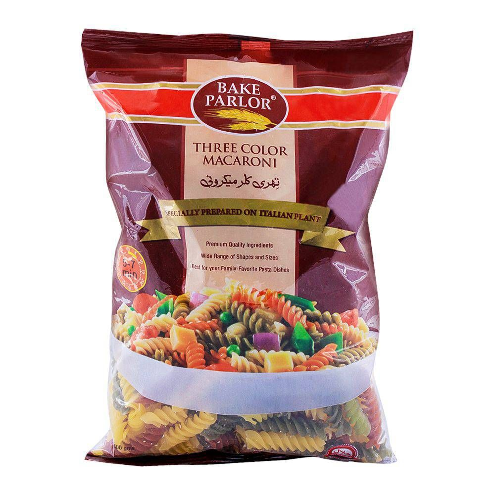 Bake Parlor Three Color Macaroni 250g