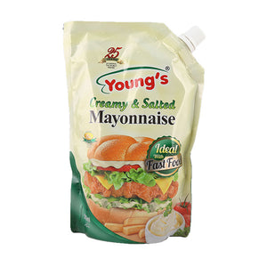 Young's Creamy & Salted Mayonnaise 500ml