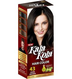 Kala Kola Hair Color 43 - Brown Small