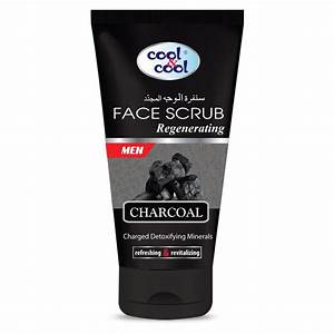 Cool & Cool Face Scrab Charcoal
