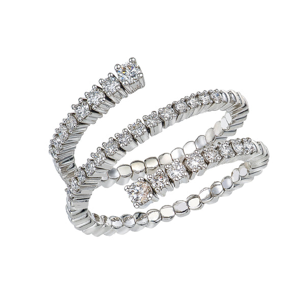 Spiral Spryngs/ 0.67ct Prong set