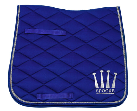 Spooks Dressage Pad Crown from AJ's Equestrian Boutique, Hertfordshire, England
