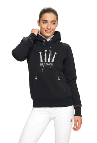 Spooks Crown Hoodie from AJ's Equestrian Boutique, Hertfordshire, England