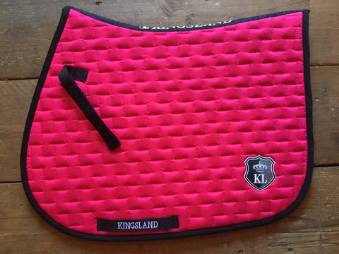 Kingsland Jump Saddle Pad from AJ's Equestrian Boutique, Hertfordshire, England