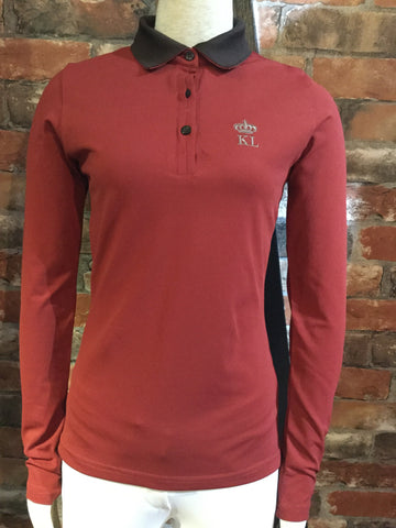 Kingsland Blanche Polo Shirt from AJ's Equestrian Boutique, Hertfordshire, England