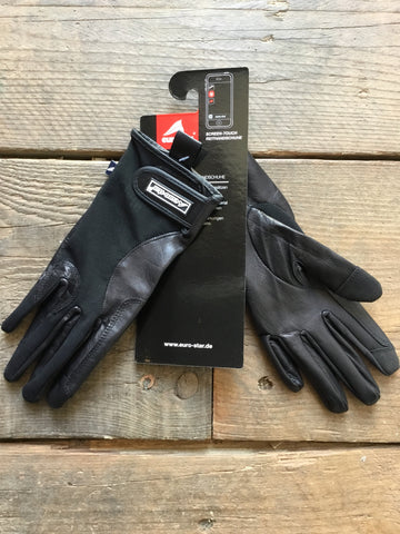 Euro-Star Riding Gloves Airflow from AJ's Equestrian Boutique, Hertfordshire, England