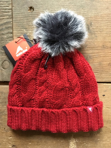 Euro-Star Bay Unisex Bobble Hat from AJ's Equestrian Boutique, Hertfordshire, England