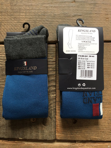 Kingsland Casey Unisex Technical Socks from AJ's Equestrian Boutique, Hertfordshire, England