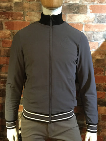 Cavalleria Toscana Men's Stretch Jersey Bomber Jacket from AJ's Equestrian Boutique, Hertfordshire, England