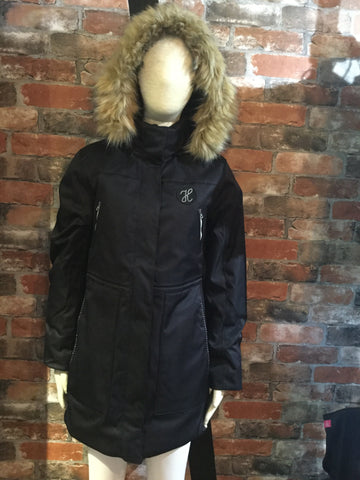 Harcour Deneuve Long Padded Jacket from AJ's Equestrian Boutique, Hertfordshire, England
