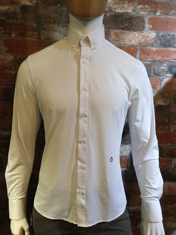 Cavalleria Toscana Men's Guibert Long Sleeved Shirt from AJ's Equestrian Boutique, Hertfordshire, England