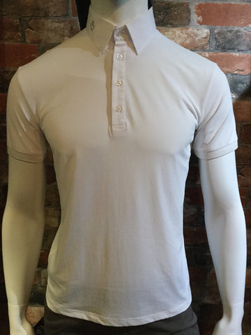 Cavalleria Toscana Men's Net Insert Polo Shirt from AJ's Equestrian Boutique, Hertfordshire, England