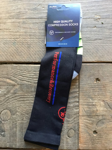 Easy Rider PRS Long Compression Socks from AJ's Equestrian Boutique, Hertfordshire, England