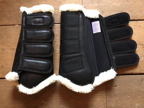 Kingsland Rubiosa Protection Boots Back from AJ's Equestrian Boutique, Hertfordshire, England