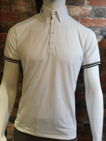 Cavalleria Toscana Men's Net Competition Polo from AJ's Equestrian Boutique, Hertfordshire, England