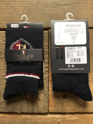 Kingsland Volastra Unisex Coolmax Socks from AJ's Equestrian Boutique, Hertfordshire, England