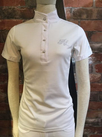 Kingsland Latta Short Sleeve Tech Show Shirt from AJ's Equestrian Boutique, Hertfordshire, England