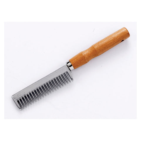 Alu Tail Comb Wooden Handle