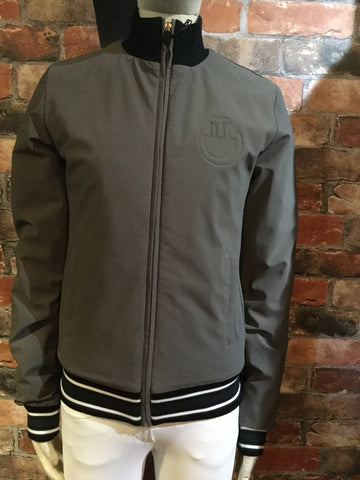 Cavalleria Toscana Stretch Jersey Bomber Jacket from AJ's Equestrian Boutique, Hertfordshire, England