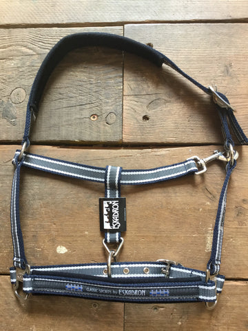 Eskadron Pin Buckle Headcollar from AJ's Equestrian Boutique, Hertfordshire, England