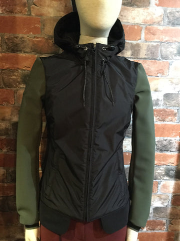 Cavalleria Toscana Hooded Stretch Nylon Jacket from AJ's Equestrian Boutique, Hertfordshire, England