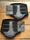 Kingsland Jose Brushing Boots Front Pair from AJ's Equestrian Boutique, Hertfordshire, England