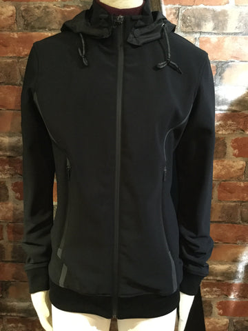 Cavalleria Toscana Stretch Jersey Detachable Hood Sweatshirt from AJ's Equestrian Boutique, Hertfordshire, England