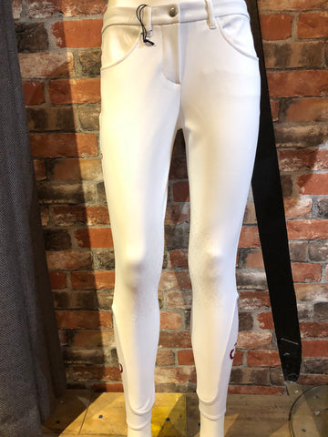 Cavalleria Toscana Micro Perforated Breeches from AJ's Equestrian Boutique, Hertfordshire, England