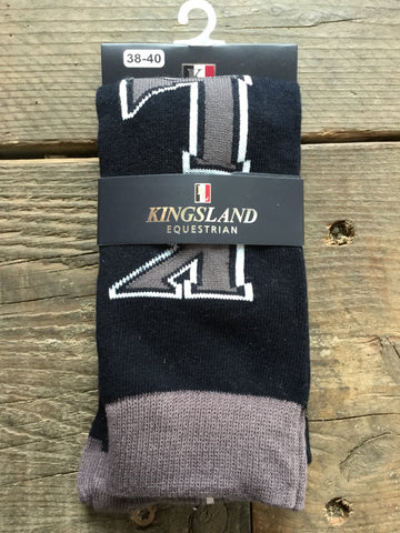 Kingsland Codeglia Unisex Cotton Socks from AJ's Equestrian Boutique, Hertfordshire, England